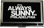 Its Always Sunny in Philadelphia White Name Card Case