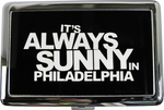 Its Always Sunny in Philadelphia White Name Large Card Case