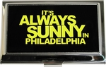 Its Always Sunny in Philadelphia Yellow Name Card Case
