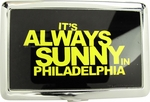 Its Always Sunny in Philadelphia Yellow Name Large Card Case