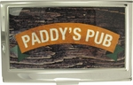 Its Always Sunny in Philadelphia Yellow Paddy's Pub Card Case