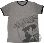 Jack Daniels Face T-Shirt Sheer