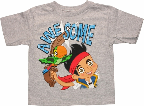 Jake and Never Land Pirates AweSome Youth T-Shirt