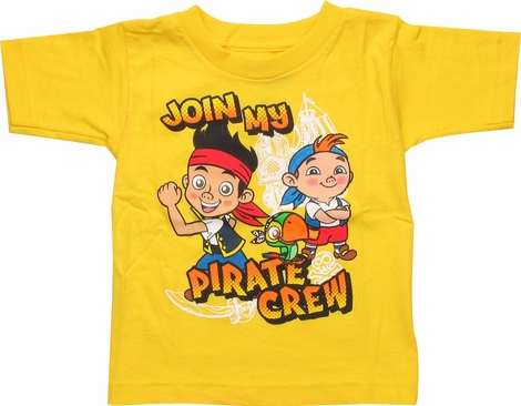 Jake and Never Land Pirates Join Toddler T-Shirt