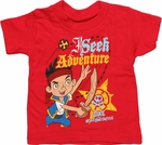Jake and the Never Land Pirates Adventure Toddler T Shirt