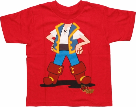Jake and the Never Land Pirates Body Toddler T Shirt