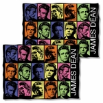 James Dean Color Block FB Pillow Case