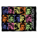 James Dean Color Block Pillow Case