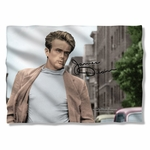 James Dean Colorful Walk Pillow Case