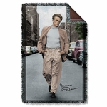 James Dean Colorful Walk Throw Blanket