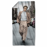 James Dean Colorful Walk Towel