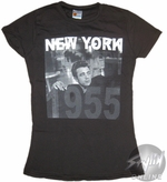 James Dean Raised Hand Baby Tee