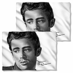 James Dean Stare FB Pillow Case