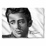 James Dean Stare Pillow Case