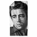 James Dean Stare Towel