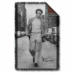 James Dean Walk Throw Blanket