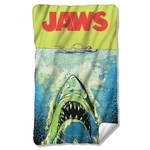 Jaws Attack Fleece Blanket