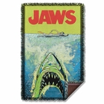 Jaws Attack Throw Blanket