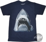 Jaws Face T-Shirt Sheer