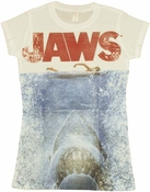Jaws Poster Baby Tee