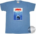 Jaws Poster T-Shirt Sheer