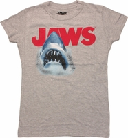 Jaws Shark Logo Baby Tee