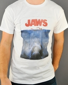 Jaws Vintage Poster T Shirt Sheer
