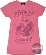 Jetsons Candy Rockets Baby Tee