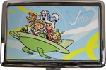 Jetsons Family Flying Car Large Card Case