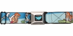 Jetsons Family Group Seatbelt Mesh Belt