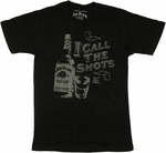 Jim Beam Call Shots T Shirt Sheer