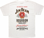 Jim Beam Number 1 Bourbon T Shirt