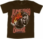Jimi Hendrix Denver T-Shirt Sheer