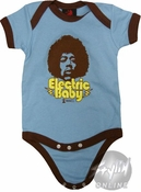 Jimi Hendrix Electric Baby Snap Suit