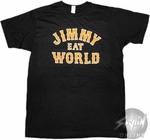 Jimmy Eat World Name T-Shirt Sheer