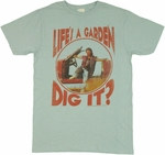 Joe Dirt Dig It T Shirt Sheer