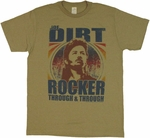 Joe Dirt Rocker T Shirt Sheer