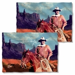 John Wayne Monument Man FB Pillow Case