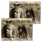 John Wayne Stoic Cowboy FB Pillow Case