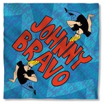 Johnny Bravo Logo Repeat Bandana