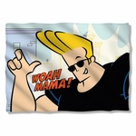 Johnny Bravo Woah Mama Pillow Case