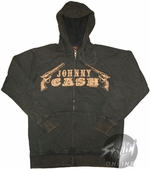 Johnny Cash Guns Hoodie