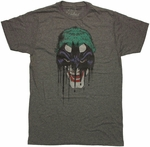 Joker Bat Mask T Shirt Sheer
