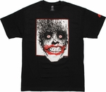 Joker Bats Head Red Frame T Shirt
