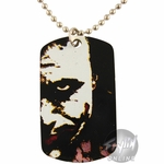 Joker Face Dog Tag