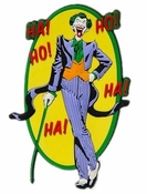 Joker Laugh Mega-Mega Magnet