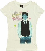 Jonas Brothers Crushin Kevin Youth T-Shirt