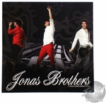 Jonas Brothers Live Black Sticker