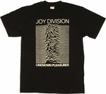 Joy Division Unknown Pleasures T Shirt