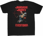 Judge Dredd Executioner T Shirt Sheer